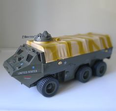 GI Joe APC (Anti-Personnel Carrier). Hours of fun with my brother playing.
