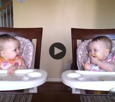 This video proves that some things are impossible to watch without smiling. We love the adorable bond these little twins share. Beautiful (and hilarious)! You're smiling…aren't you?  Share your videos with us and we will feature …