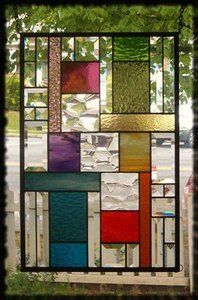 Rainbow stained/beveled glass