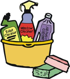 Cleaning Chemical Clip Art