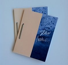 Slow Fashion Publication | Little Paper Planes