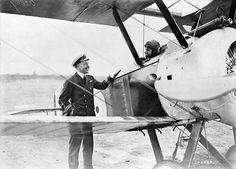 Pilots with Sopwith F. 1 Camel aircraft of No. 203 Squadron, R.A.F., Izel-le-Hameau, France, 12 July 1918.