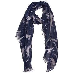 Marble Print Scarf (€19) found on Polyvore
