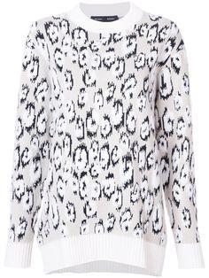PROENZA SCHOULER Knitted Leopard Sweater. #proenzaschouler #cloth #sweater