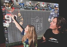 Fantasy draft day just got OFFICIAL! Can't wait to get my new NFL.com Fantasy Draft Board. - Free Fantasy Football | 2015 Fantasy Football - NFL.com