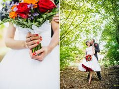Up, up and Away!  Bright Balloons And Red Shoes For A Fun and Colourful Wizard of Oz Inspired Bride