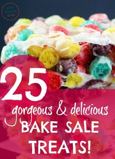 ⭐ 25 Bake Sale Worthy Treats – Sell Out Recipe Ideas for Your Next Fundraiser These are lovely bake sale ideas! Even simple recipes I can make :) We need to raise money at our school fundraiser & I need some easy desserts that are best selle Bake Sale Treats, Bake Sale Recipes, Bake Sale Cookies, Fall Bake Sale, Bake Sale Packaging, Baking With Kids, Fall Baking, Christmas Baking, Christmas Cookies