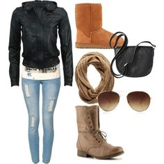 """Basic Fall"" Polyvore"