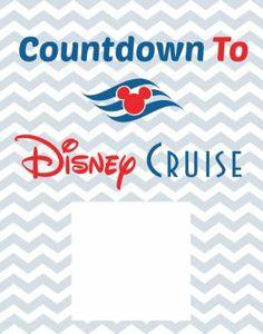 Countdown To Disney Cruise Free Printable