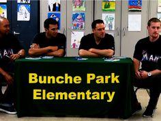 Marlins players attend Bunche Park Elementary School presentation/ Miami Dade County Public Schools