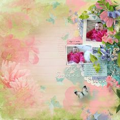 Butterfly Dreams by Designworks Vintage Charm template by Heartstrings Scrap Art All Smiles, Digital Scrapbooking, Heartstrings, Digital Art, Templates, Create, Gallery, Artist, Painting