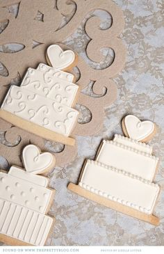 Iced Biscuits by Nelle Cakes | The Pretty Blog