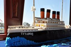 titanic cake - Google Search