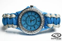 Womens Blue Paracord Watch