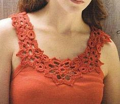 very cool crochet top (yoke) patterns -so many good ones to choose from. Also links to patterns for motifs, appliques and more!