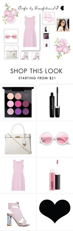 """""""Flowery Love"""" by gracefulness13 on Polyvore featuring MAC Cosmetics, Marc Jacobs, Dorothy Perkins, ZeroUV and Goat"""