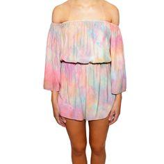 "Shop ""Rainbow Sherbet Romper"" on kkbloomboutique.com"