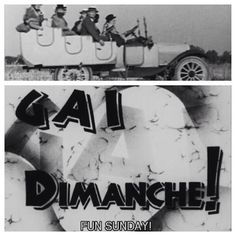 Gai dimanche! (Fun Sunday!) (1935) directed by Jacques Berr - 22 minutes  #JacquesTati third short finds him as half of a duo who are looking to make a quick franc from some Sunday sightseers.  Available in French with English subtitles on the #CriterionCollection The Complete Jacques Tati boxset and #Studiocanal The Jacques Tati Collection.  Jacques Tati #2
