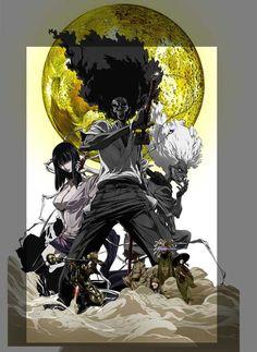Afro Samurai: Resurrection 27x40 Movie Poster (2009)