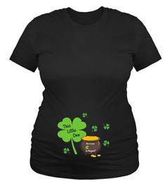 a071f8f767532 Items similar to Maternity Shirts, Announcement Shirts, This Little one St.  Patricks Day Maternity Mom to Be Shirts on Etsy