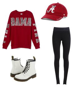 on Polyvore featuring polyvore, fashion, style, NIKE, Dr. Martens and '47 Brands
