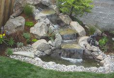 landscape waterfalls designs