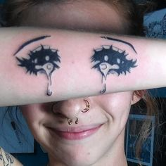 #sadeyes #crying #anime #eyes #tattoo by #angelmaeglutz #mzxiii at #eliteink #southside #Jacksonville #jaxbeach #duval #florida #nofilter