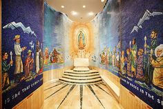 Our Lady of Guadalupe Chapel in  Basilica of the National Shrine of the Immaculate Conception