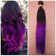$25.99 (Buy here: https://alitems.com/g/1e8d114494ebda23ff8b16525dc3e8/?i=5&ulp=https%3A%2F%2Fwww.aliexpress.com%2Fitem%2FFull-Shine-Brazilian-Remy-Hair-Straight-One-Bundle-100g-1B-Purple-Ombre-7A-Human-Hair-Bundles%2F1000001281716.html ) Full Shine Brazilian Remy Hair Straight One Bundle 100g 1B Purple Ombre 7A Human Hair Bundles Weave Two-toned Color Hair for just $25.99