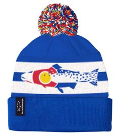 917e2e32f67 Colorado Cutthroat Knit Hat Fly Fishing Gear