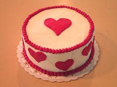 #Red #heart cake #wedekingsbakery