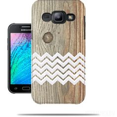 Case Chevron on wood for Samsung Galaxy J5