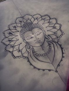 - You are in the right place about (notitle) Tattoo Design And Style Galleries On The Net – Are The - Cool Art Drawings, Art Drawings Sketches, Tattoo Drawings, Body Art Tattoos, Hand Tattoos, Sleeve Tattoos, Buddha Tattoos, Buddha Tattoo Design, Buddha Drawing