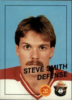 salt lake golden eagles trading cards | 1988-89 Salt Lake Golden Eagles #7 Steve Smith