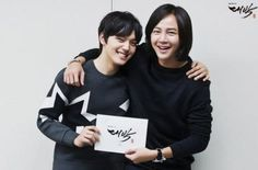 "Jang Geun Suk and Yeo Jin Goo Start Bromance in ""Daebak"" Script Reading Photos kminjungee March 2, 2016"