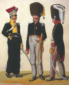 FRANCE - Officer of 9th Chevaulegers , 23rd and 24th  Chasseurs a Cheval