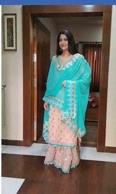 Best 10 Order contact my whatsapp number 7874133176 Gharara Designs, Kurti Designs Party Wear, Punjabi Suits Designer Boutique, Indian Designer Suits, Ladies Suits Indian, Latest Suit Design, Beautiful Suit, Beautiful Dresses, Embroidery Suits Punjabi