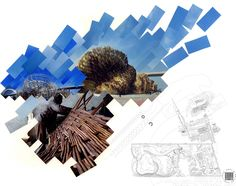 Spanish Pavilion for Shanghai World Expo 2010 by Miralles Tagliabue EMBT Architecture Drawings, School Architecture, Sleep Dream, Collage Techniques, Photoshop, Photocollage, 3d Drawings, Number Two, Pavilion