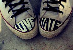 I love, I hate