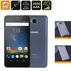 The Uhans is an affordable Android Smartphone that features a Quad-Core CPU, RAM, battery, and Dual-IMEI numbers. Geek Gadgets, Electronics Gadgets, Quad, Latest Tech Gadgets, Unlocked Smartphones, Movies Playing, Android Smartphone, Android Phones, Samsung Galaxy S6