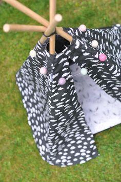 Gratis Anleitung Tippi Nähen #nähen #sewing #schnittmuster #tutorial #diy #anleitung #nähanleitung #free #tippi #indianerzelt #tipi #hund #katze