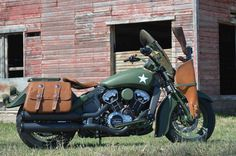 Indian Motorcycles' Military Tribute Scout | Motorcycle Cruiser