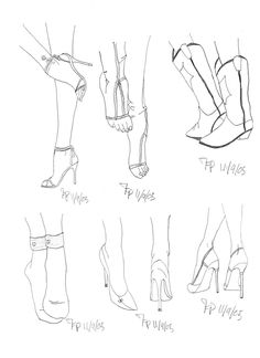 draw feet in shoes - Google Search