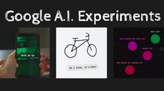 Google has introduced some AI Experiments to teach you more about neural networks in a fun manner. These experiments let you draw, create music, take pictures etc. to become a part of these AI-based web experiments Quick Draw, You Draw, Play To Learn, Open Source, Big Data, Machine Learning, Manners, Google, How To Become