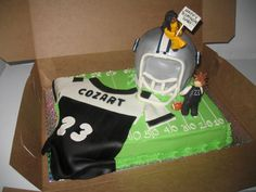 Dallas Cowboys Baby Shower Cake | Football Field