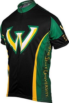 Adrenaline Promotions Wayne State Cycling Jersey Large >>> Visit the image link more details. Note:It is affiliate link to Amazon.