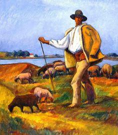 Camil Ressu(1880-1962) Cioban cu oi