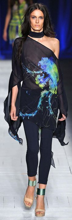 Just Cavalli Spring Summer 2013 Ready to Wear Collection | LBV ♥✤ | KeepSmiling | BeStayBeautiful