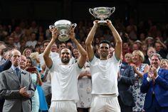 Los colombianos Cabal y Farah ganan final de dobles en Wimbledon (primer Gran Slam para Colombia) Champions, Wimbledon, Doubles Facts, Finals, Colombia, Sports