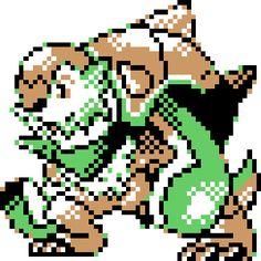 Gif Pokemon Nostalgia Myart Pixel Art Sprites Pixelart POkemon Starters Gameboy Color Attempt Gbc